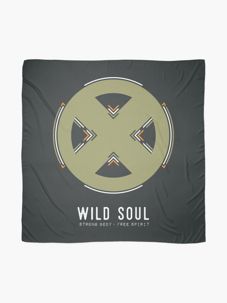 Alternate view of Wild Soul, Strong Body, Free Spirit Scarf