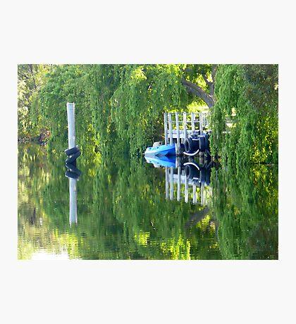 Lake McNess Jetty Photographic Print