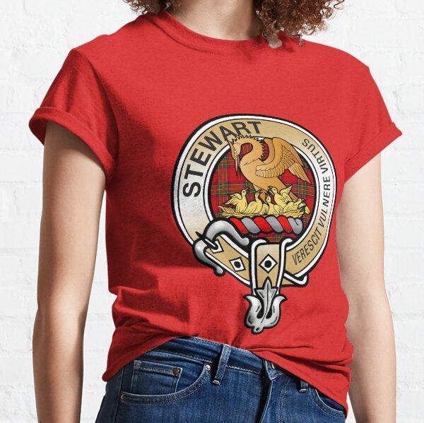 Stewart Clan Crest Classic T-Shirt