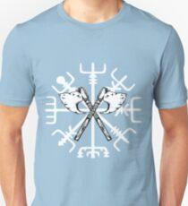 Vegvisir Kompass Axt Unisex T-Shirt