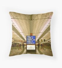 Hong Kong International Throw Pillow