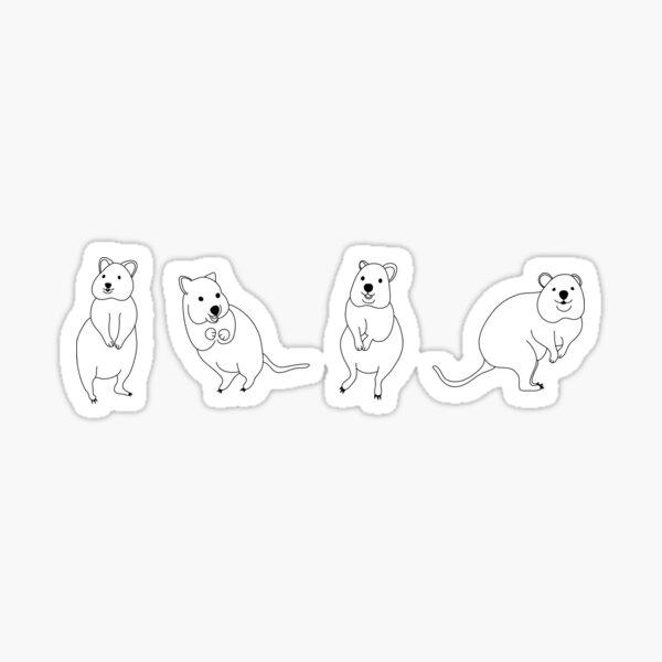 Quokka Stickers Sticker