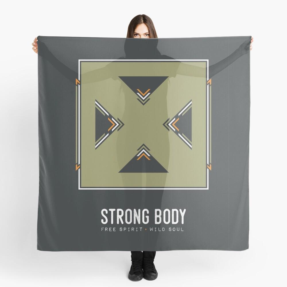 Strong Body, Free Spirit, Wild Soul Scarf