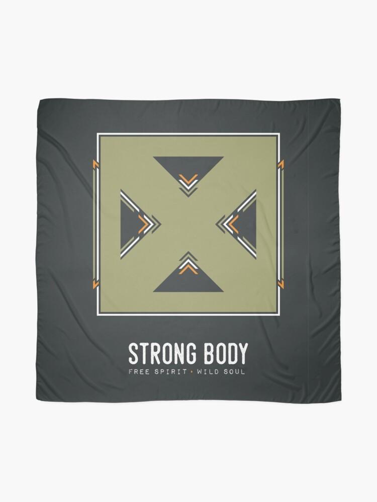 Alternate view of Strong Body, Free Spirit, Wild Soul Scarf