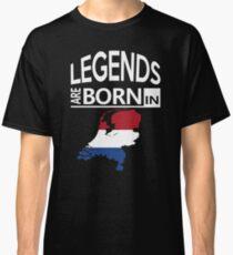 Legends born Netherlands Dutch Pride Birthday Classic T-Shirt