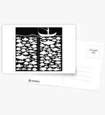 Funny Fishing T-Shirt Present Funny Postcards