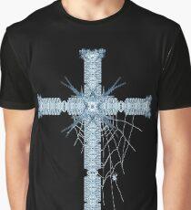 Victorian cross Graphic T-Shirt