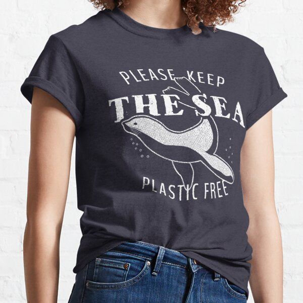 Please Keep the Sea Plastic Free - Sealion Classic T-Shirt