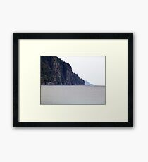 The Cliffs-Old Woman Bay Framed Print