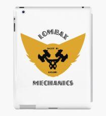 Ratchet & Clank lombax mechanics iPad Case/Skin