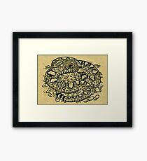 Rattlesnake! Framed Print