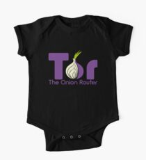 Tor - The Onion Router One Piece - Short Sleeve
