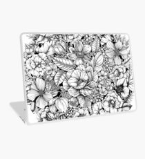Floral Flower circle  Laptop Skin