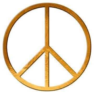 PEACE  Symbol - 60th Birthday 21 Feb. 2018 by Hell-Prints
