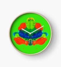 Tintenklecks Froschkönig Uhr