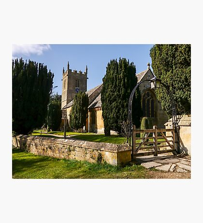 St Peter's Church, Stanway.  Photographic Print