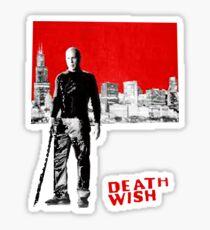 death wish action Sticker