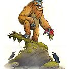 Bigfoot by stieven