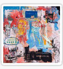 Basquiat Style 2 Sticker