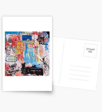 Basquiat Style 2 Postcards