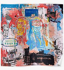 Basquiat Style 2 Poster