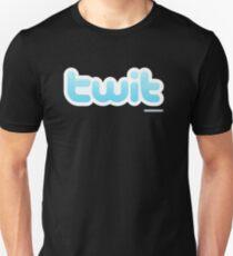 Twitter Twit Unisex T-Shirt
