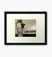 Sandblast Framed Print