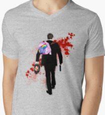 Hello Unicorn Altered Carbon Men's V-Neck T-Shirt