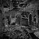 Abandoned Building Interior by Ian Porter