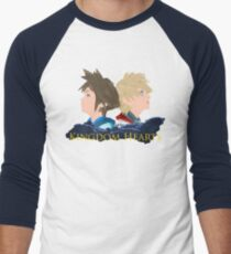 Sora & Roxas Back to Back Men's Baseball ¾ T-Shirt