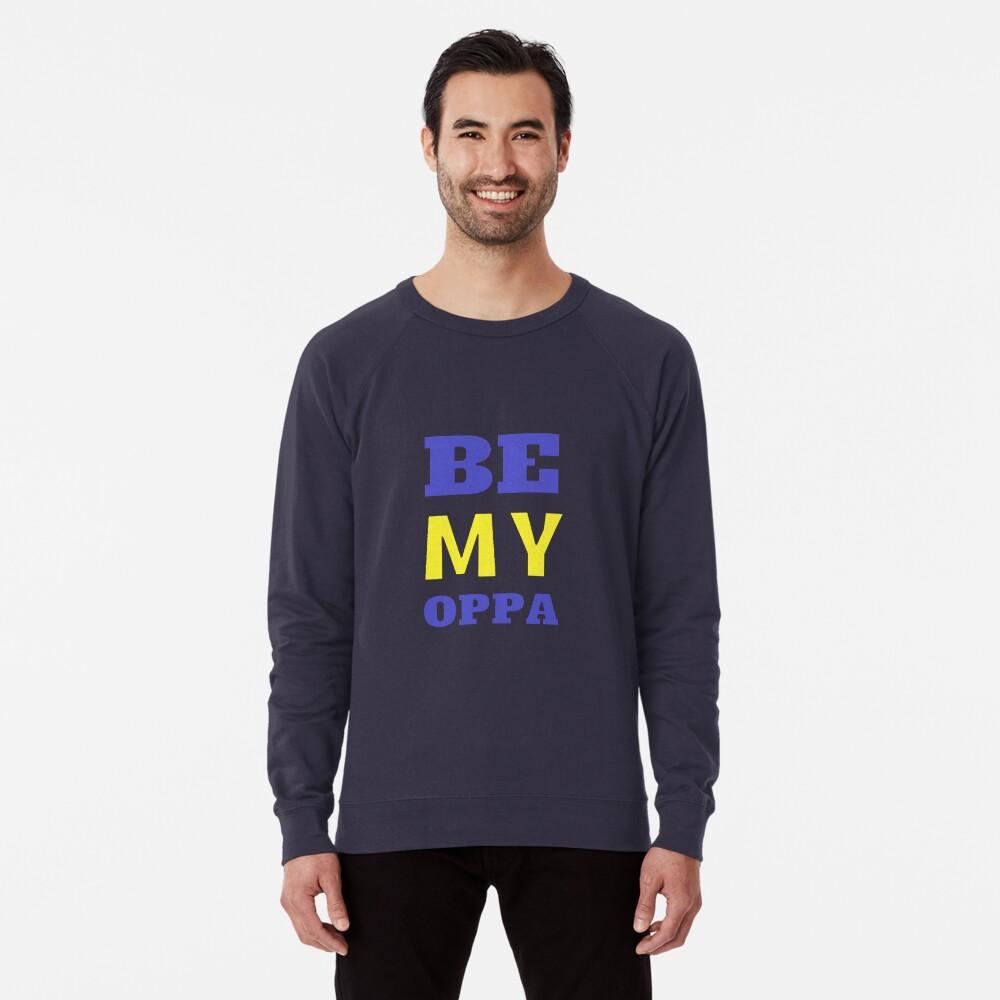 SEI MEIN OPPA - Blau Leichter Pullover