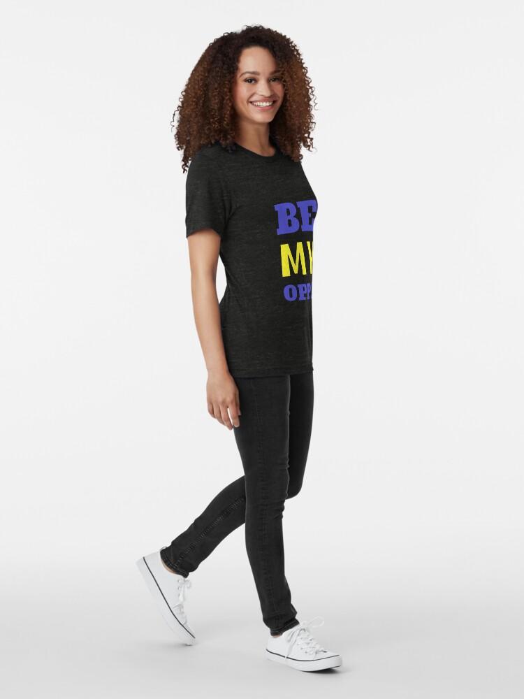 Alternative Ansicht von SEI MEIN OPPA - Blau Vintage T-Shirt