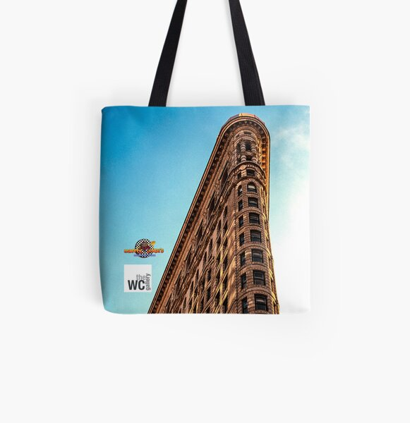 THE FLATIRON BUILDING NYC All Over Print Tote Bag