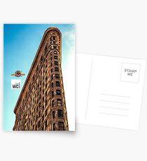 THE FLATIRON BUILDING NYC Postcards