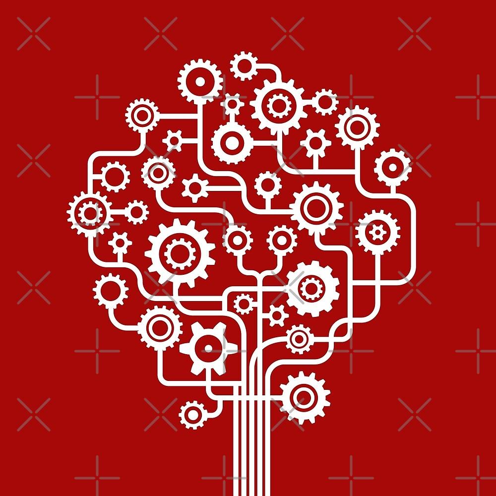 Nature at Work - Tree Pattern by Bangtees