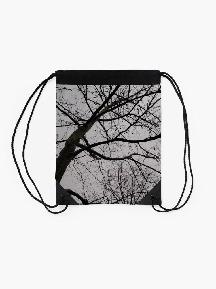 Alternate view of Tree Drawstring Bag