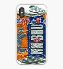 IrnBru - crushed tin iPhone Case