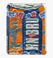 IrnBru - crushed tin iPad Case/Skin