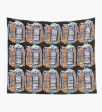 IrnBru - crushed tin Wall Tapestry