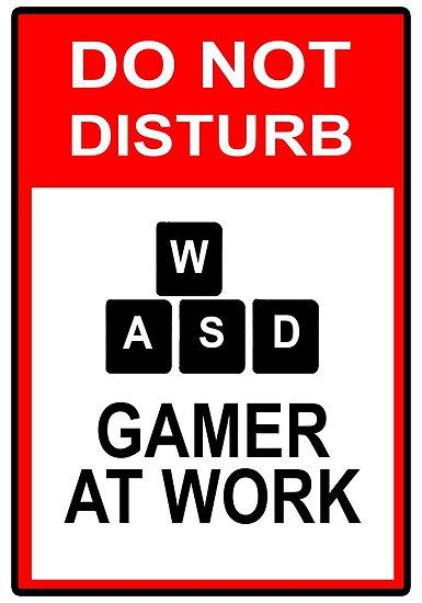 Gamer At Work - PC by Balugix