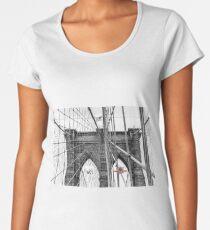 BROOKLYN BRIDGE IN NYC Women's Premium T-Shirt