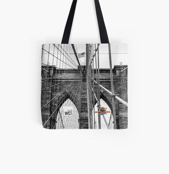 BROOKLYN BRIDGE IN NYC All Over Print Tote Bag