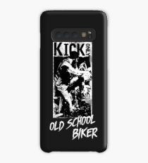 Kick Only - Old School Biker Hülle & Klebefolie für Samsung Galaxy