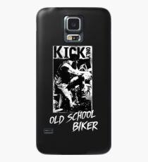 Kick Only - Old School Biker Hülle & Skin für Samsung Galaxy