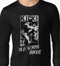 Kick Only - Old School Biker Langarmshirt