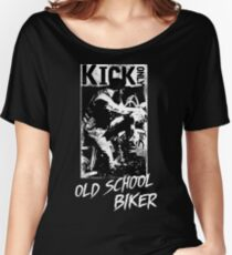 Kick Only - Old School Biker Loose Fit T-Shirt