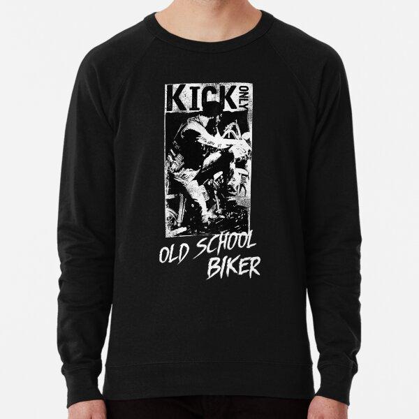 Kick Only - Old School Biker Lightweight Sweatshirt