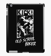 Kick Only - Old School Biker iPad-Hülle & Klebefolie