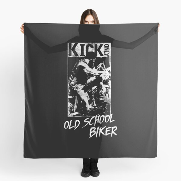 Kick Only - Old School Biker Scarf
