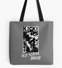 Kick Only - Old School Biker Tote Bag
